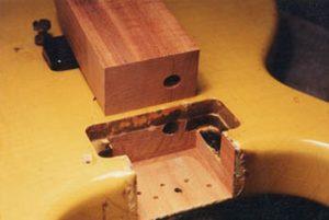 image of neck pocket and the mahogany blco