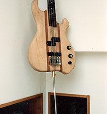 """Upright"" Electric Bass guitar"