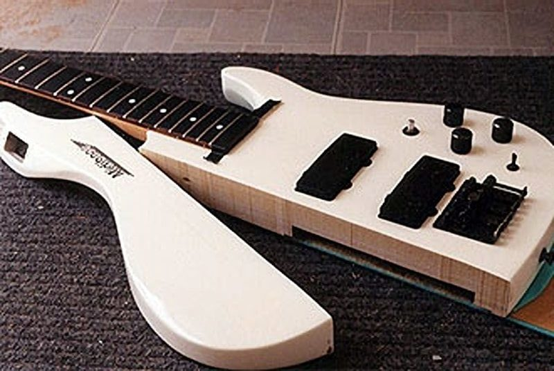 Making a double neck guitar