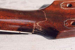 image of broken head joint