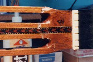 image of repairing headstock