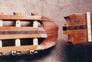 image of broken headstock