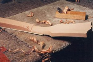 image of shaping the heel 2