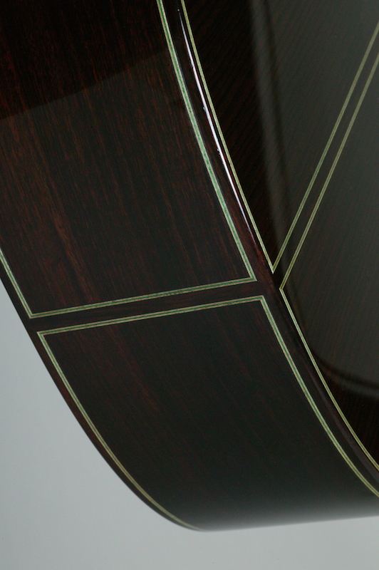 image of bottom of guitar