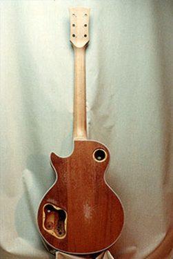 Refinishing Gibson Les Paul - before repair