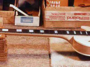 image of fretboard