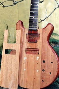 image of a new section of the guitar