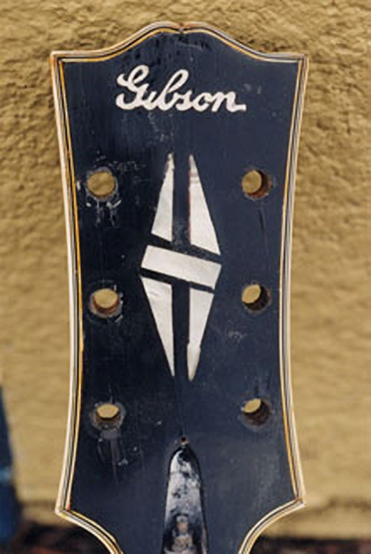 Restoring and re-finishing the headstock