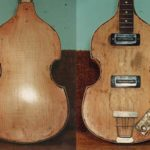 image of Hofner's violin bass