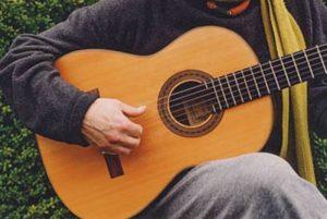 image of Daniel Friederich's guitar