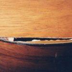 Damaged top and binding of Martin