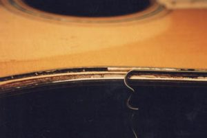 image of removing the binding