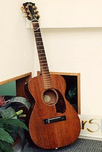 image of Guild classical guitar