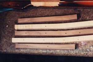 image of 5 pieces of head blanks