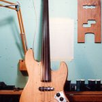 image of the fretless jazz bass