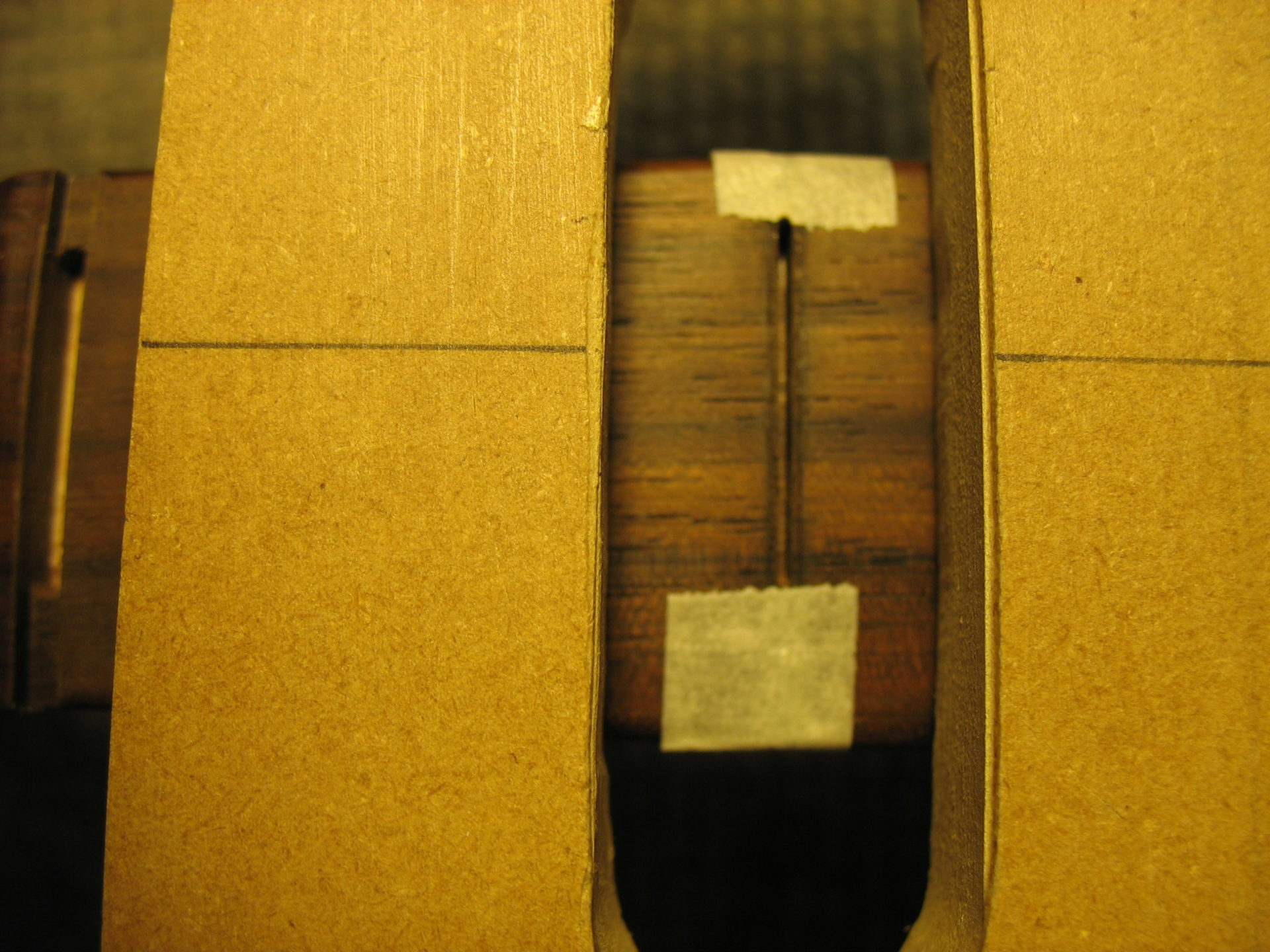 Removing the fretboard