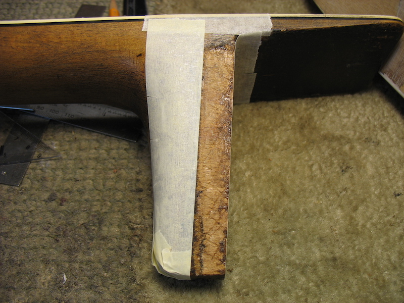 Making a male part of dovetail neck joint